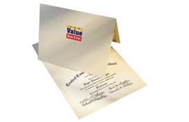 Paper Certificate Holders