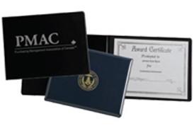Vinyl Certificate Holders