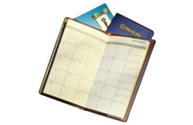Vinyl Monthly Pocket Planners