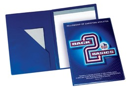 Vinyl Notepad Folders