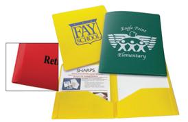 Poly Pocket Folders