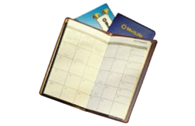 Vinyl Monthly Pocket Planners