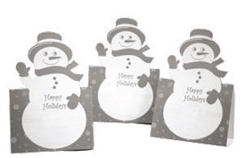 Die Cut Holiday Cards